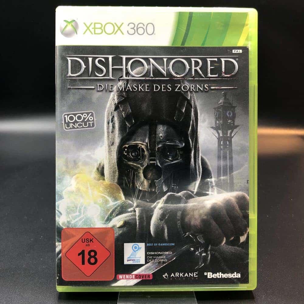 Dishonored - die Maske des Zorns (Komplett) (Sehr gut) XBOX 360 (FSK18)