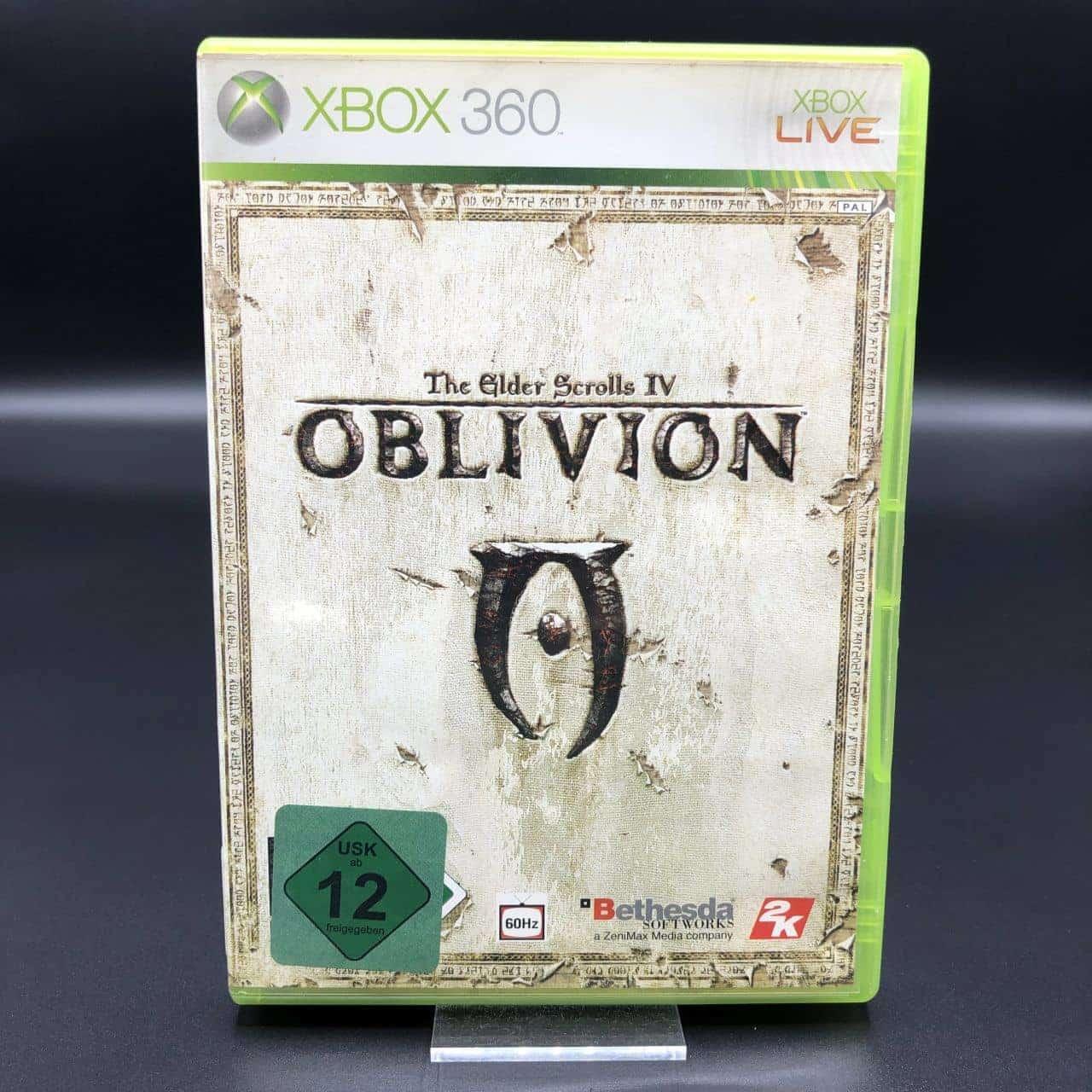 The Elder Scrolls IV: Oblivion (Komplett) (Sehr gut) XBOX 360