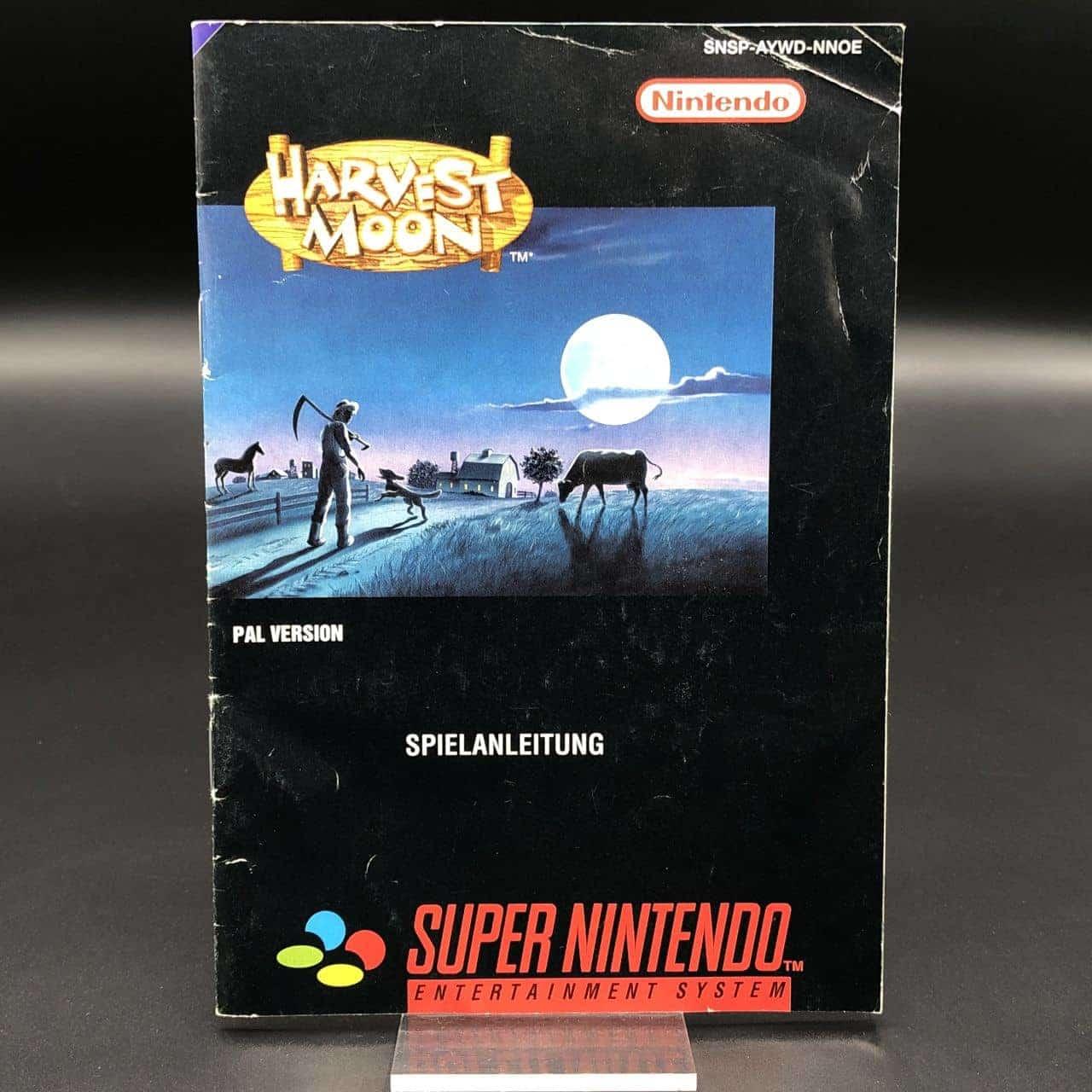 SNES Harvest Moon (Komplett) (Gebrauchsspuren) Super Nintendo