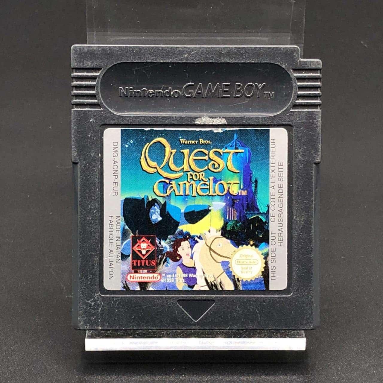 GBC Quest for Camelot (Modul) (Gebrauchsspuren) Nintendo Game Boy
