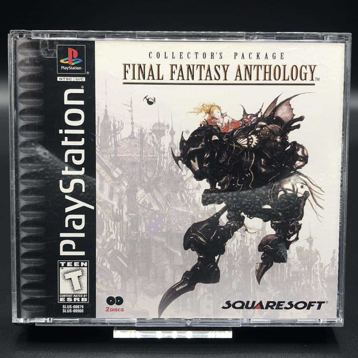 PS1 Final Fantasy Anthology (Import USA) (Komplett) (Sehr gut) Sony PlayStation 1