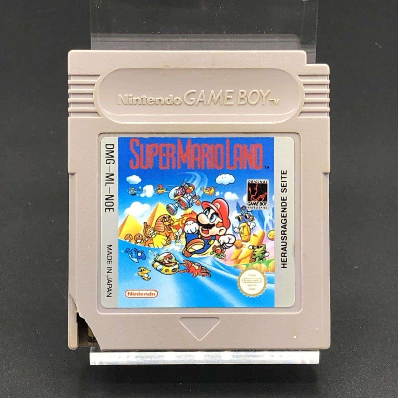 GB Super Mario Land (Modul) (Gebrauchsspuren) Nintendo Game Boy