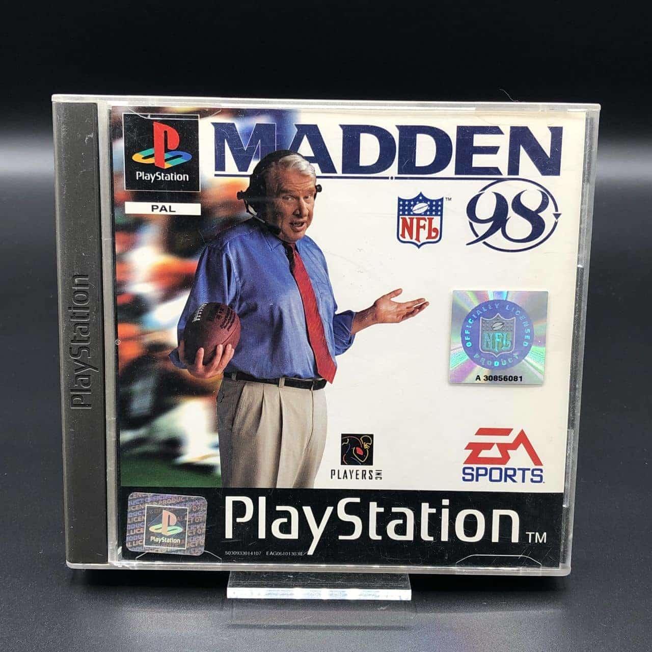 PS1 Madden 98 (Komplett) (Sehr gut) Sony PlayStation 1