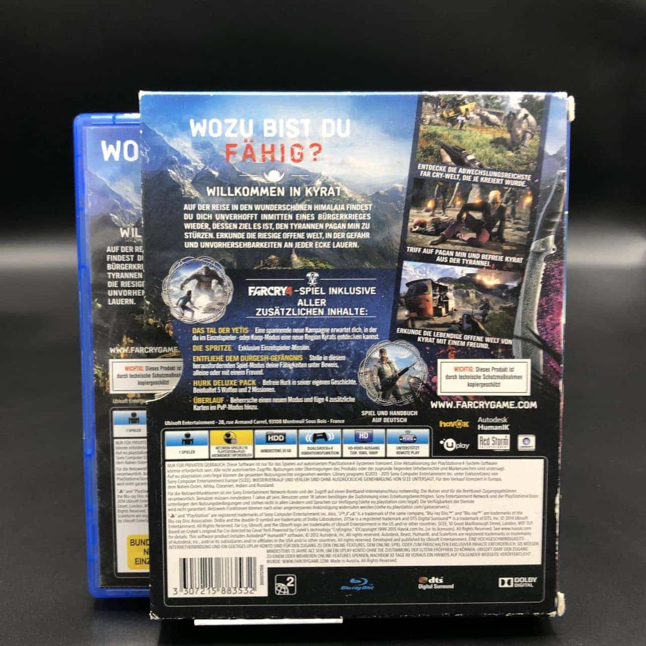 PS4 Far Cry 4 (Gut) Sony PlayStation 4 (FSK18)