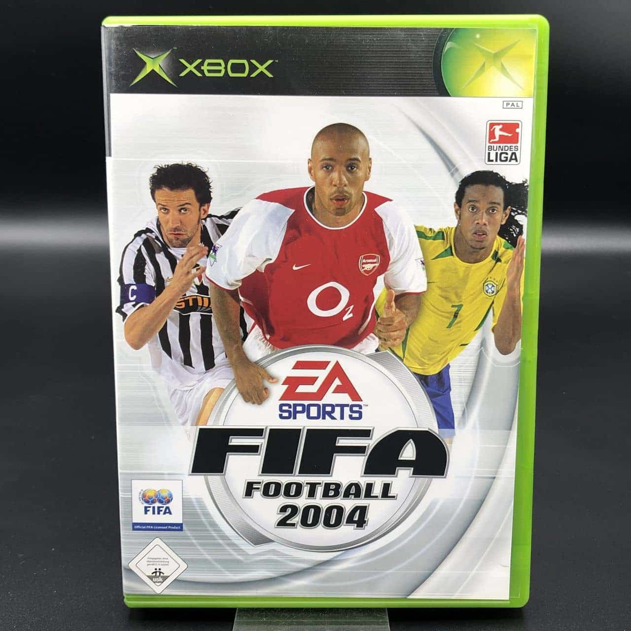 XBC FIFA Football 2004 (Komplett) (Sehr gut) Microsoft Xbox Classic