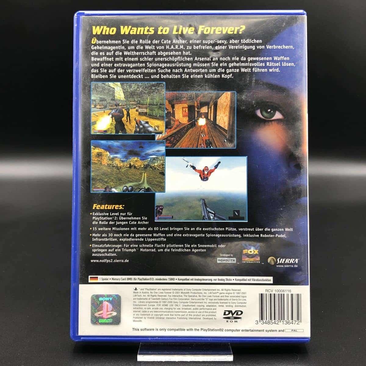 PS2 The Operative: No One Lives Forever (Komplett) (Gebrauchsspuren) Sony PlayStation 2