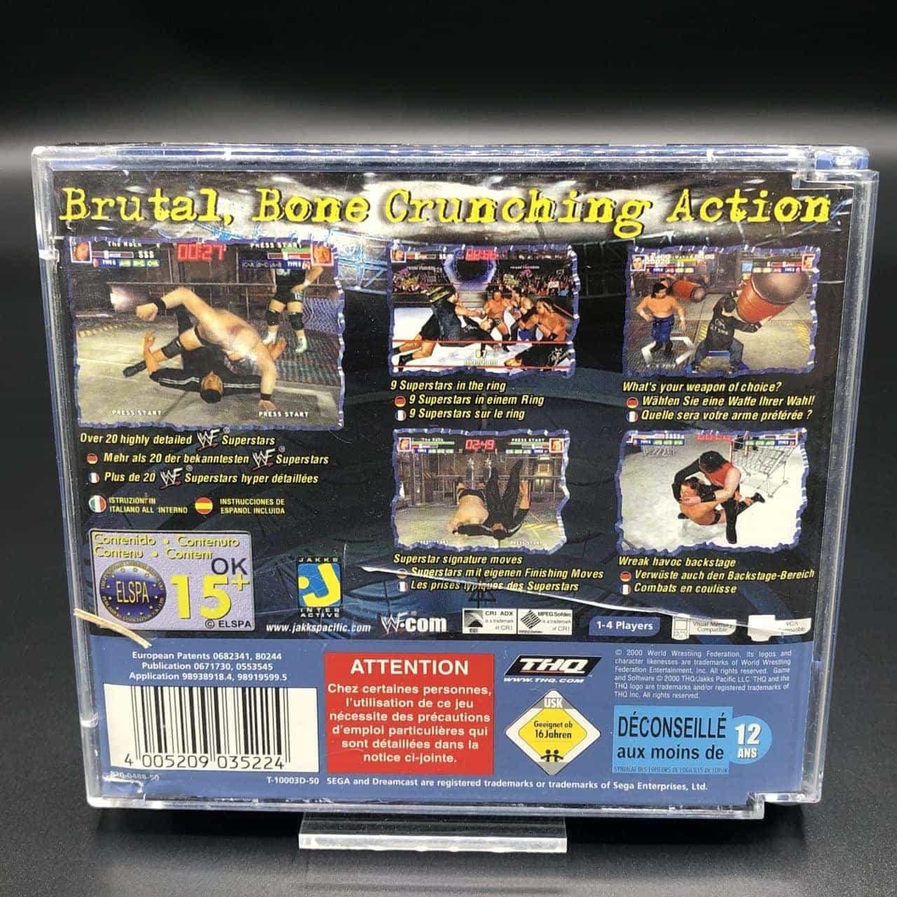 WWF Royal Rumble (Komplett) (Gut) Sega Dreamcast