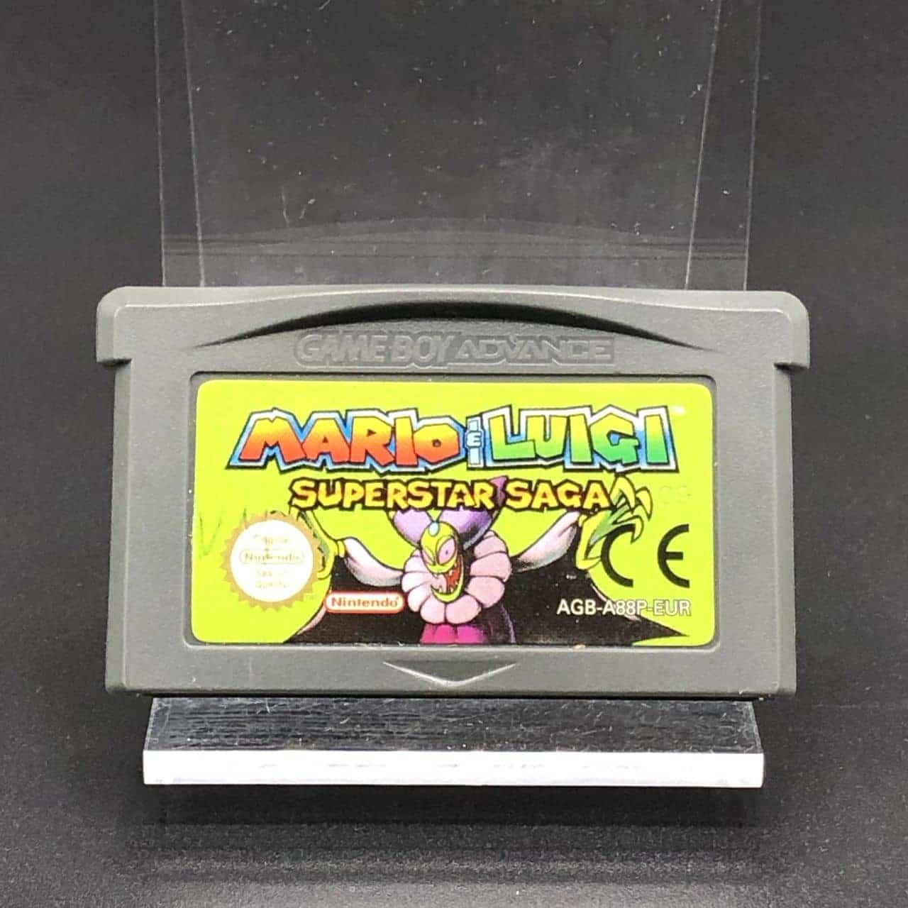 GBA Mario & Luigi: Superstar Saga (Modul) (Gebrauchsspuren) Nintendo Game Boy Advance