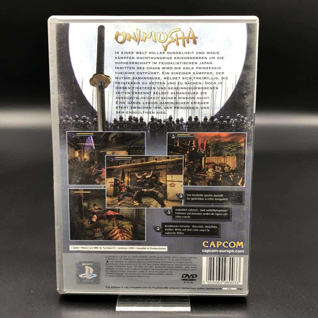PS2 Onimusha: Warlords (Platinum) (Komplett) (Gebrauchsspuren) Sony PlayStation 2