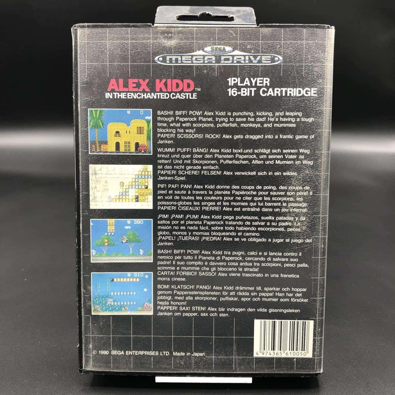 Alex Kidd in the Enchanted Castle (ohne Anleitung) (Gut) Sega Mega Drive