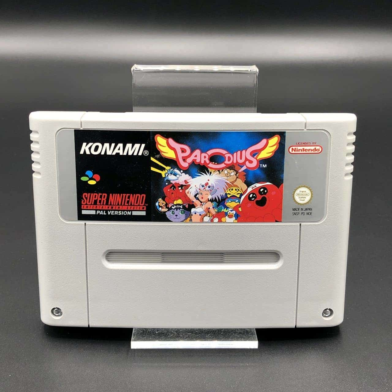 SNES Parodius (Modul) (Gut) Super Nintendo