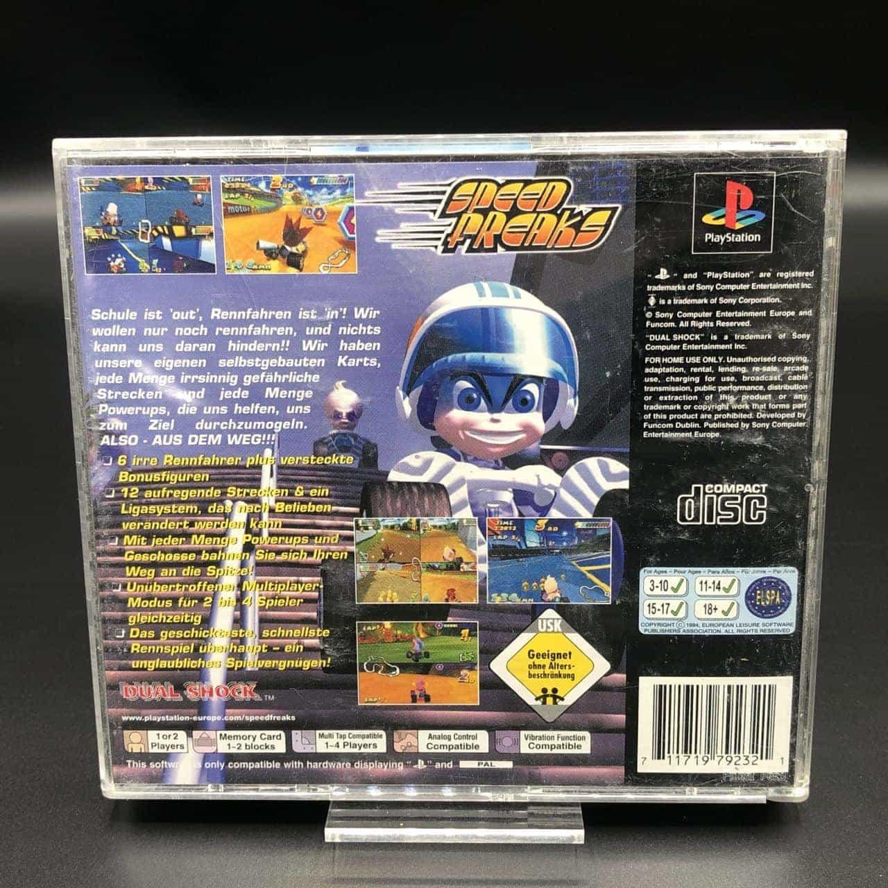 PS1 Speed Freaks (Komplett) (Gebrauchsspuren) Sony PlayStation 1