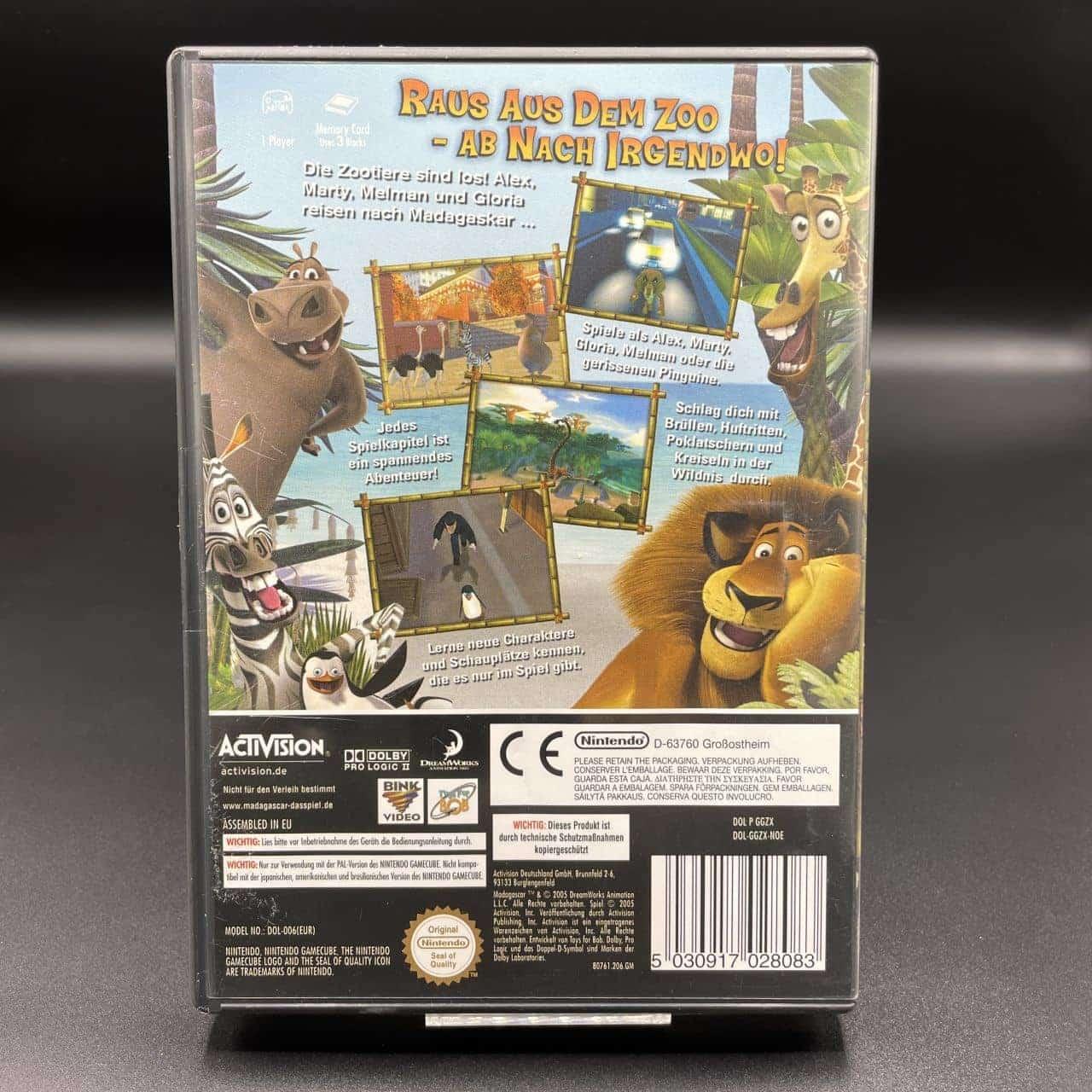 GC Madagascar (Komplett) (Sehr gut) Nintendo GameCube