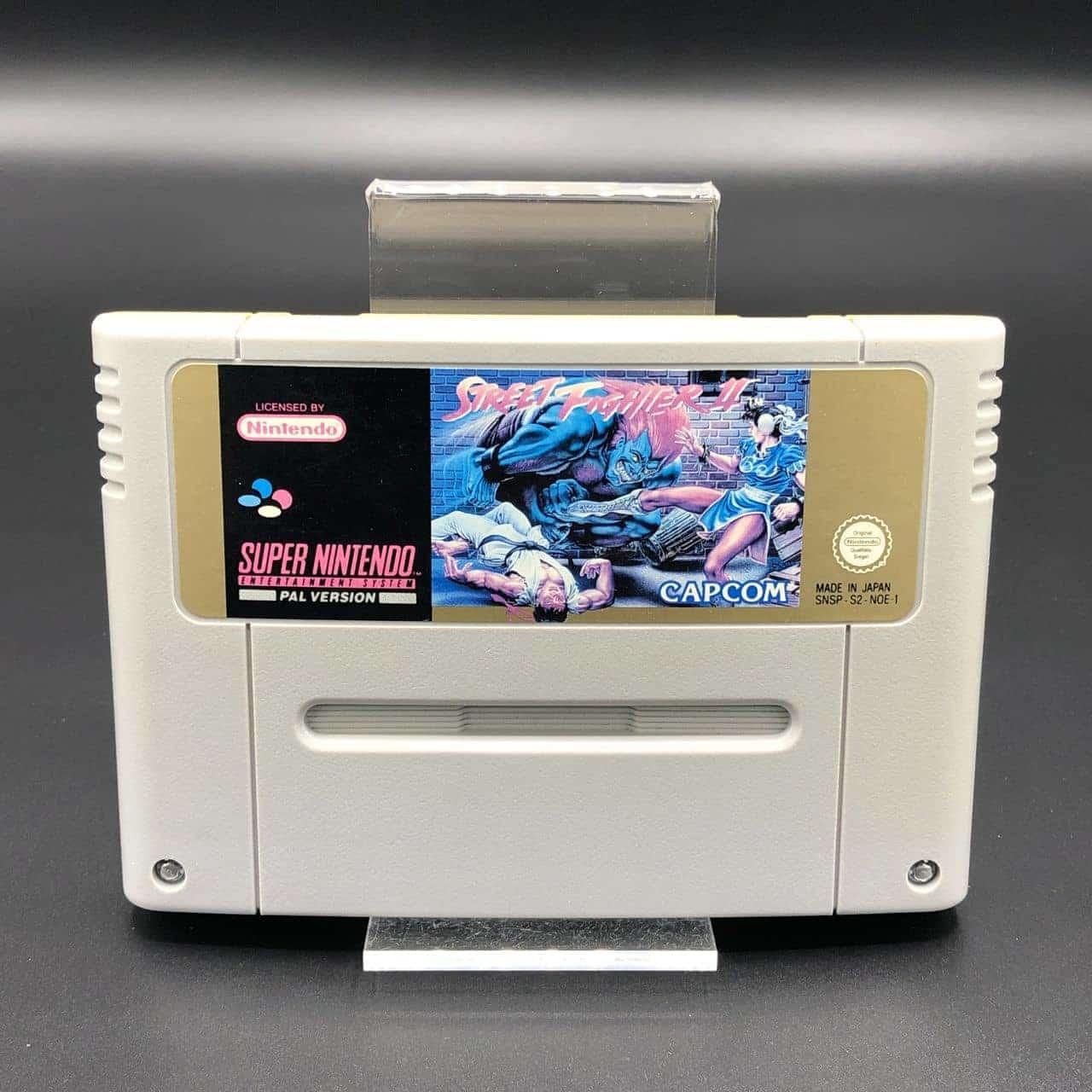 SNES Street Fighter II: The World Warrior (Modul) (Gebrauchsspuren) Super Nintendo