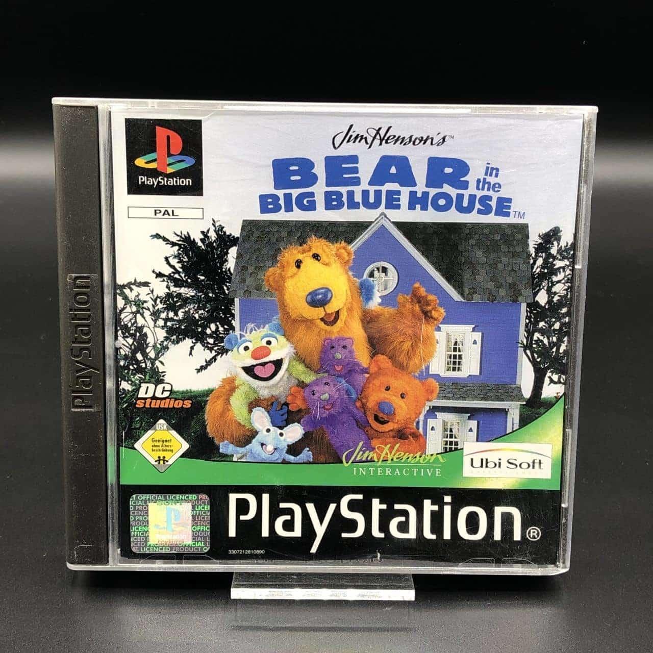 PS1 Bear in the Big Blue House (Komplett) (Gut) Sony PlayStation 1