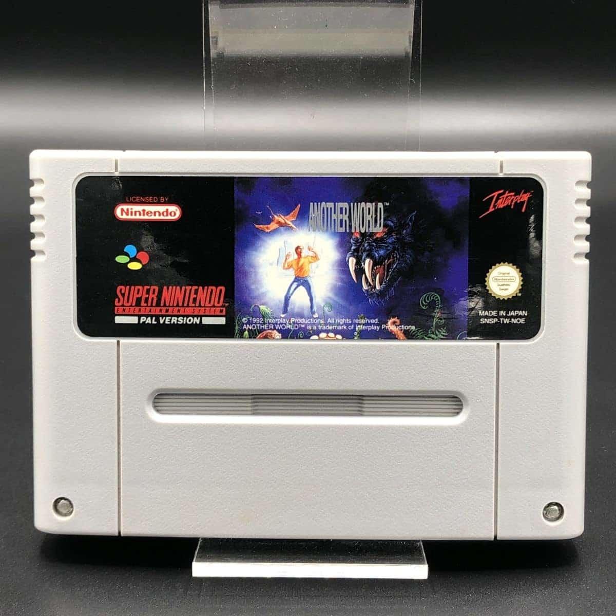 SNES Another World (Modul) (Sehr gut) Super Nintendo