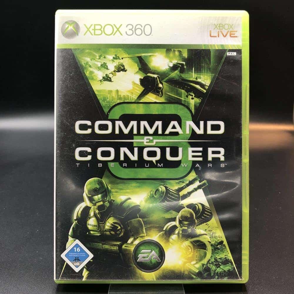 Command & Conquer 3: Tiberium Wars (Komplett) (Gut) XBOX 360