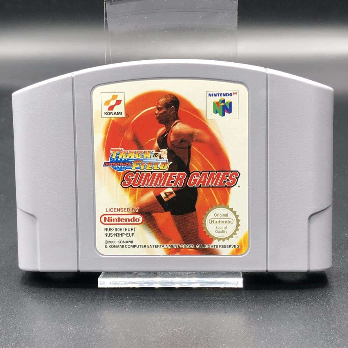N64 International Track & Field: Summer Games (ohne Anleitung) (Gut) Nintendo 64