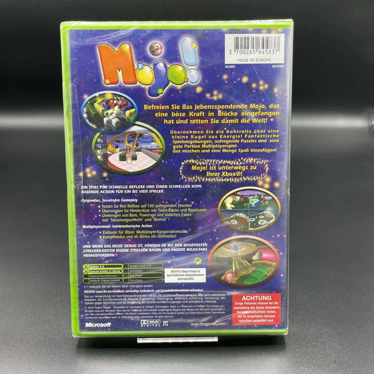 XBC Mojo! (NEU) Microsoft Xbox Classic