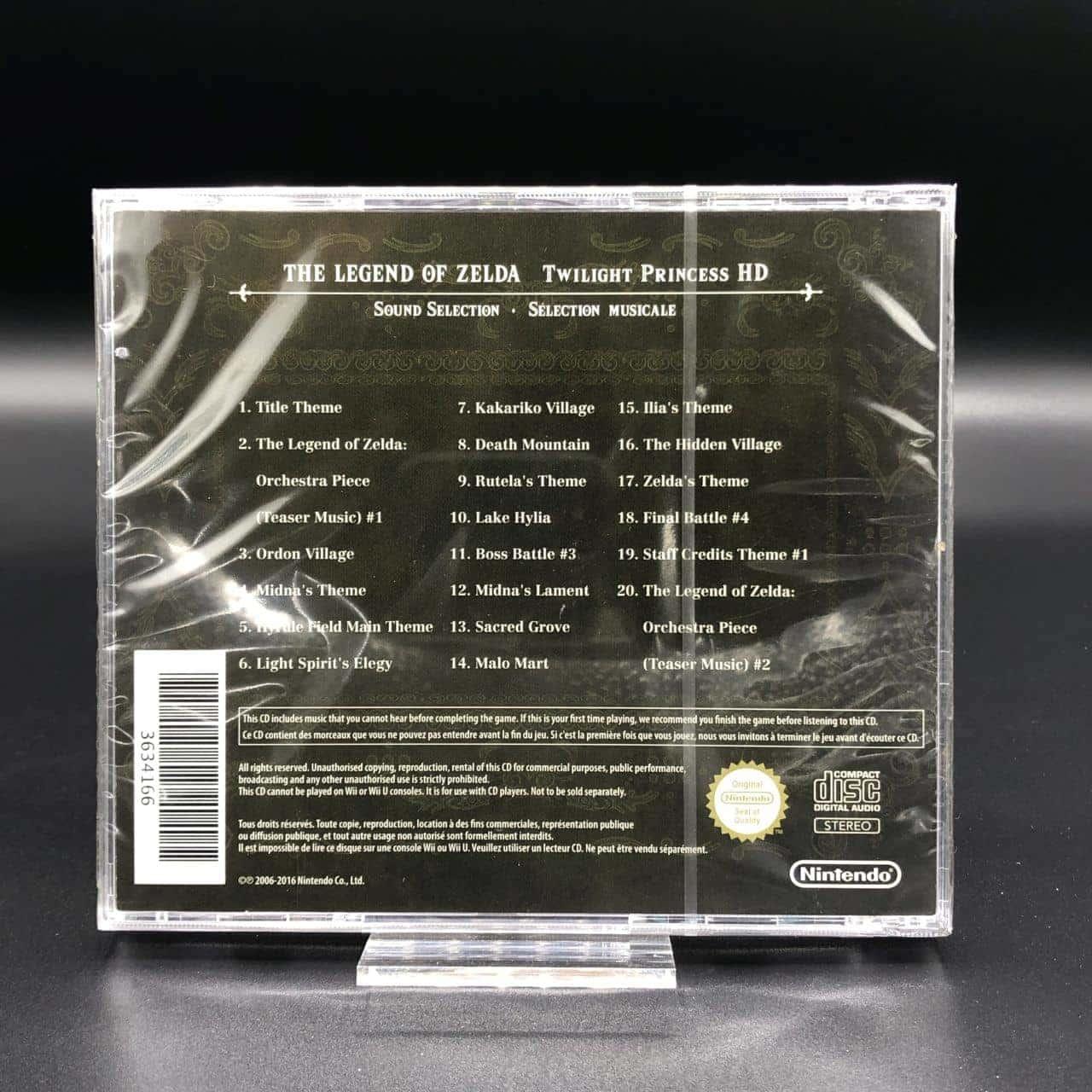 The Legend of Zelda Twilight Princess HD (Soundtrack) (NEU)