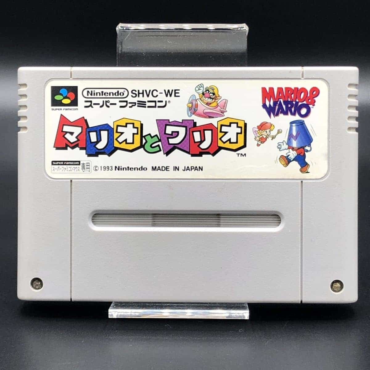 SNES Mario & Wario (Import) (Modul) (Gut) Super Nintendo