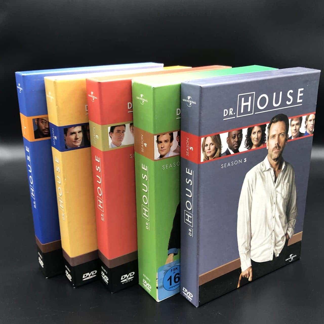 Dr. House Serie, Staffel 1-5, DVD