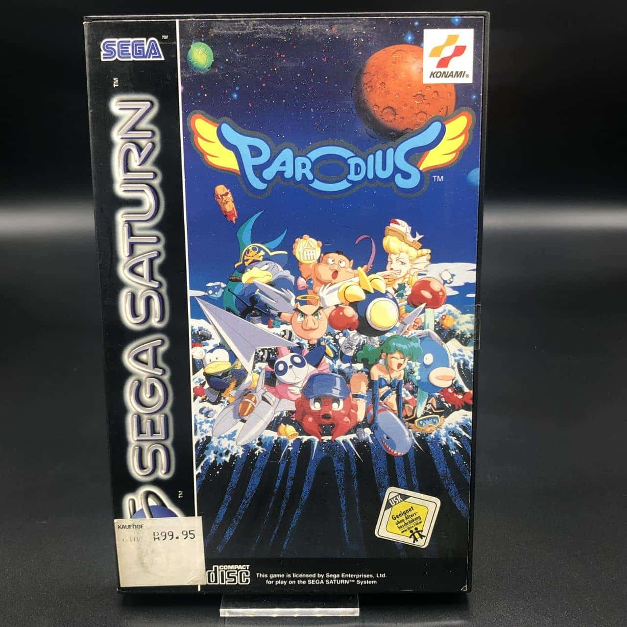 Parodius (Komplett) (Gut) Sega Saturn