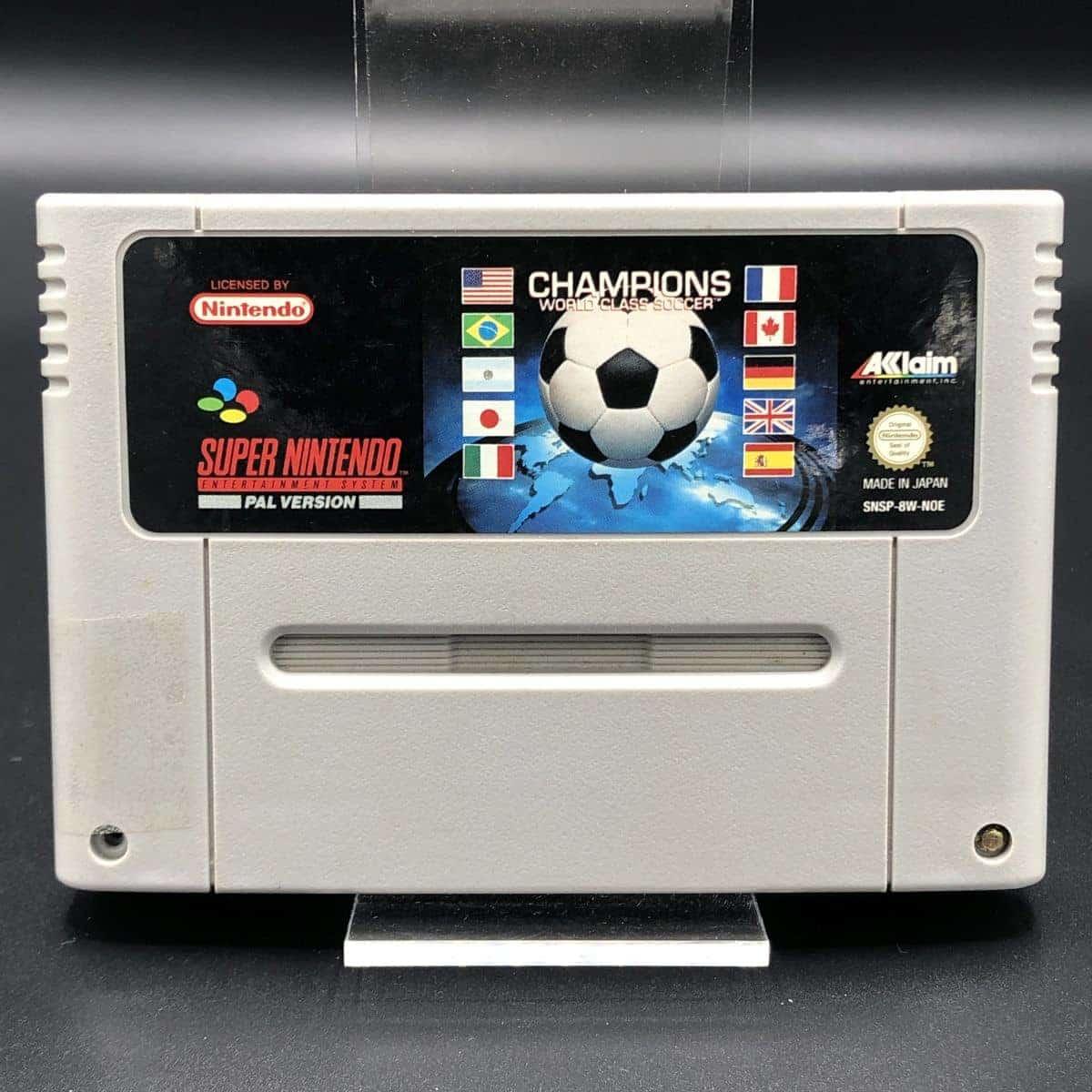 SNES Champions World Class Soccer (Modul) (Gut) Super Nintendo