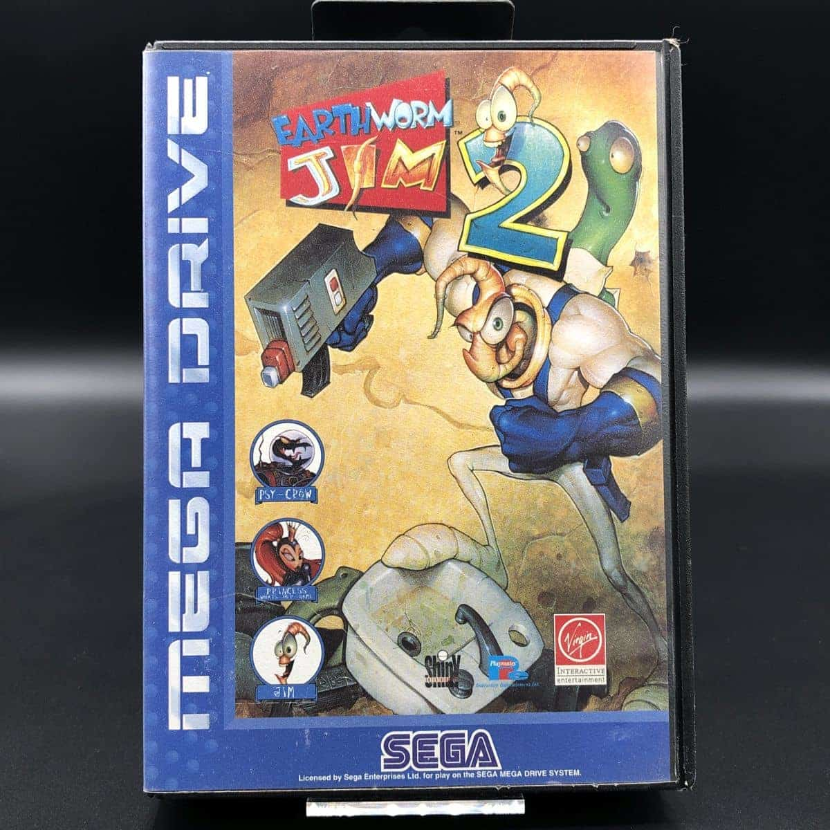 Earthworm Jim 2 (ohne Anleitung) (Gut) Sega Mega Drive