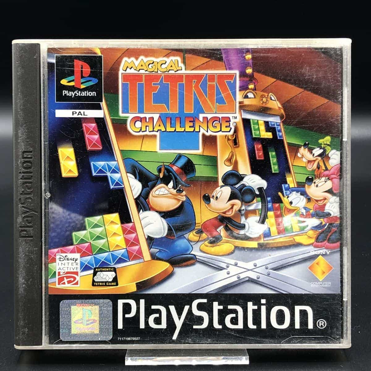 PS1 Magical Tetris Challenge (Komplett) (Gut) Sony PlayStation 1