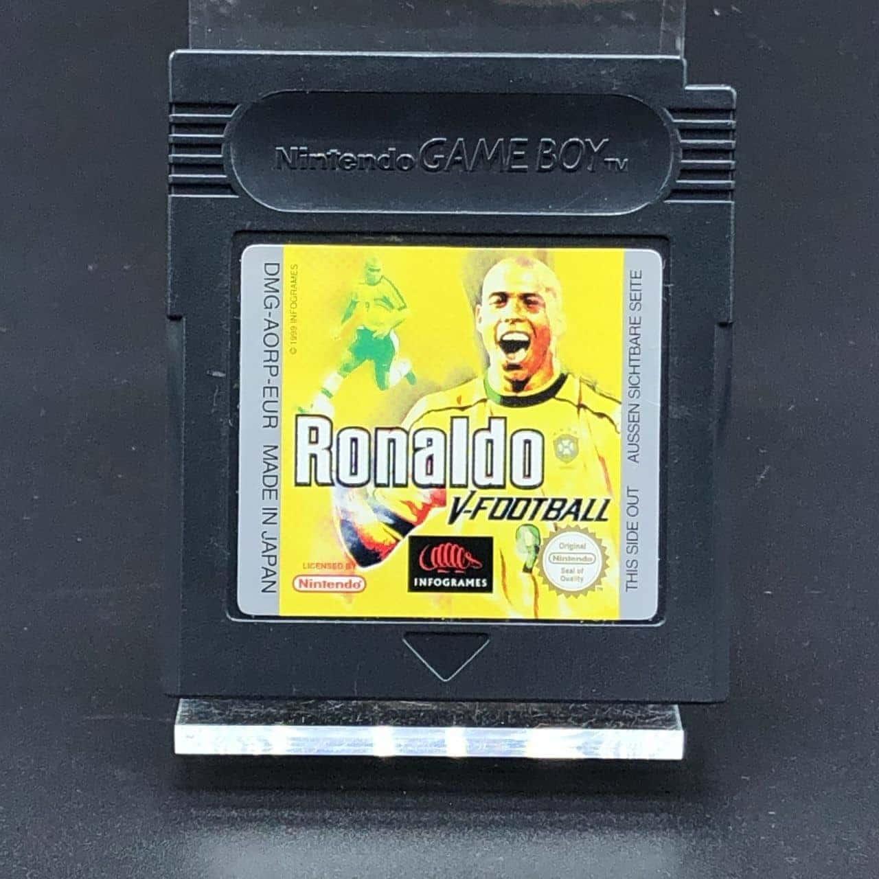 GBC Ronaldo V-Football (Modul) (Gut) Nintendo Game Boy Color