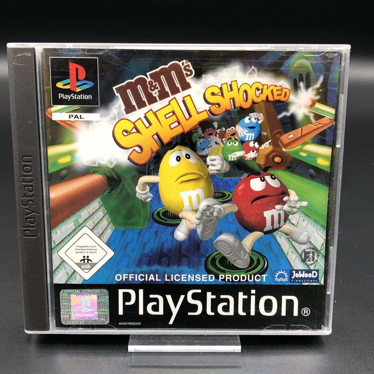PS1 M&Ms Shell Shocked (Komplett) (Sehr gut) Sony PlayStation 1