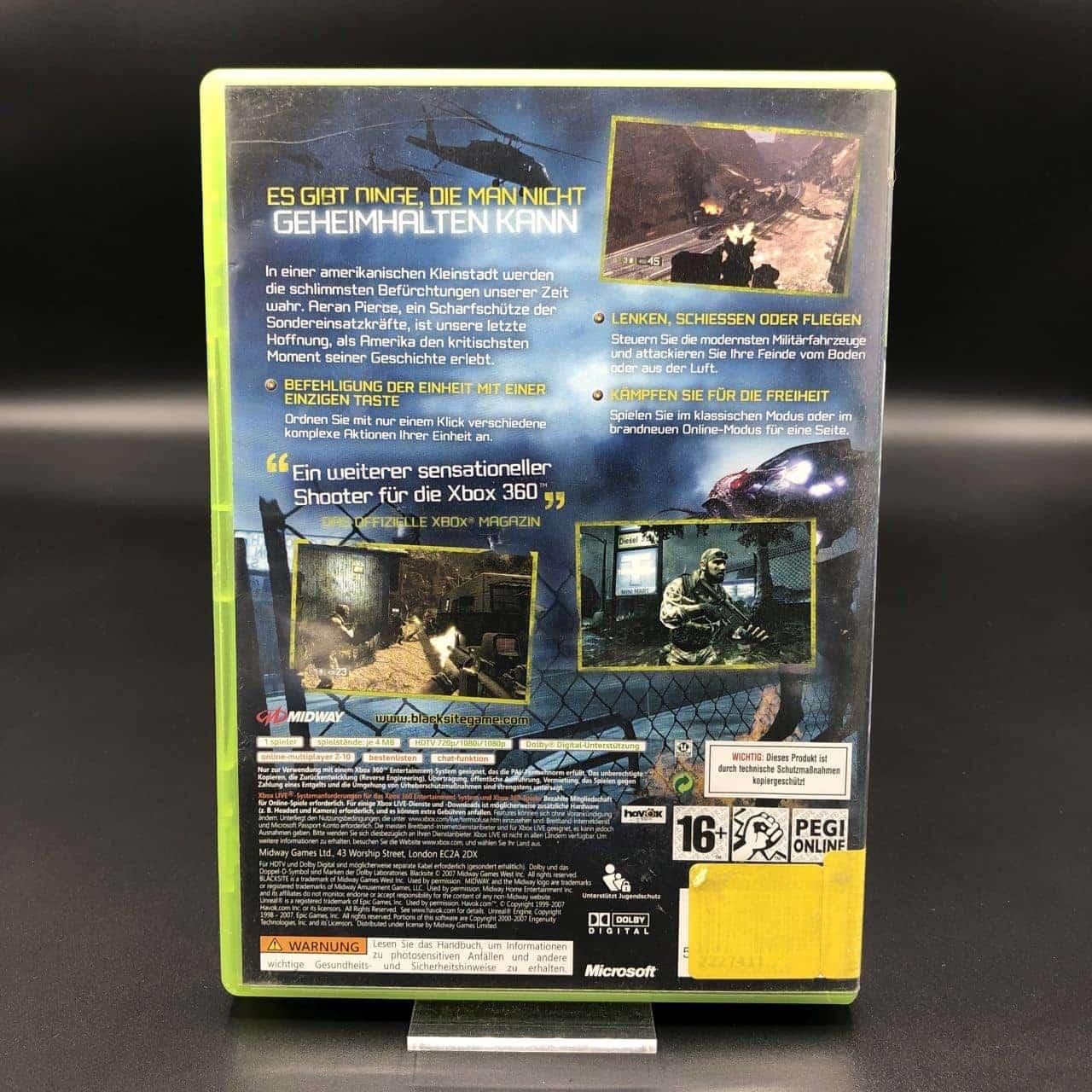 BlackSite: Area 51 (Komplett) (Gut) XBOX 360