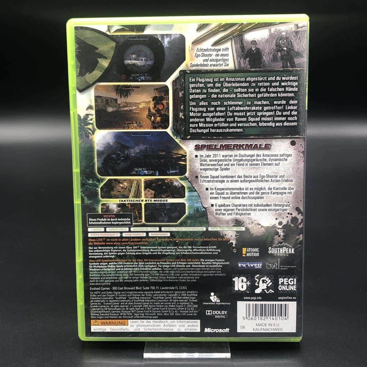 Raven Squad: Operation Hidden Dagger (Komplett) (Sehr gut) Microsoft XBOX 360 (FSK18)