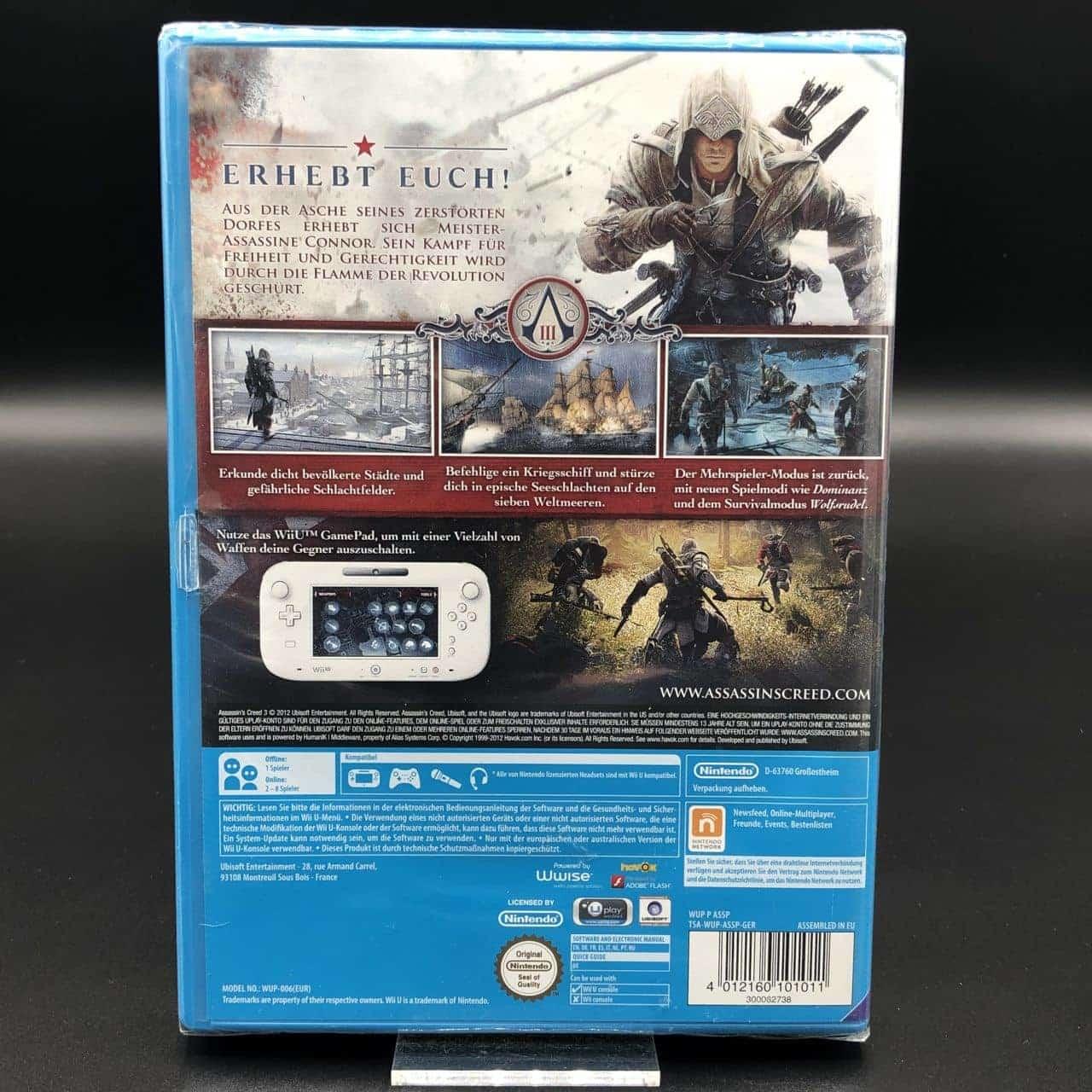 Assassin's Creed III (Neu) Nintendo WiiU