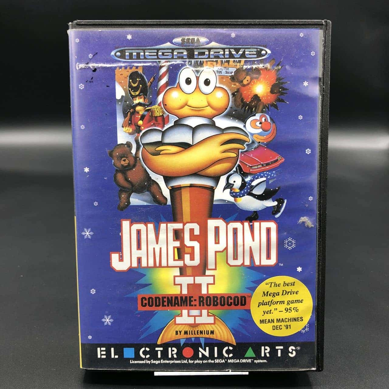 James Pond II - Codename: RoboCod (Komplett) (Gut) Sega Mega Drive