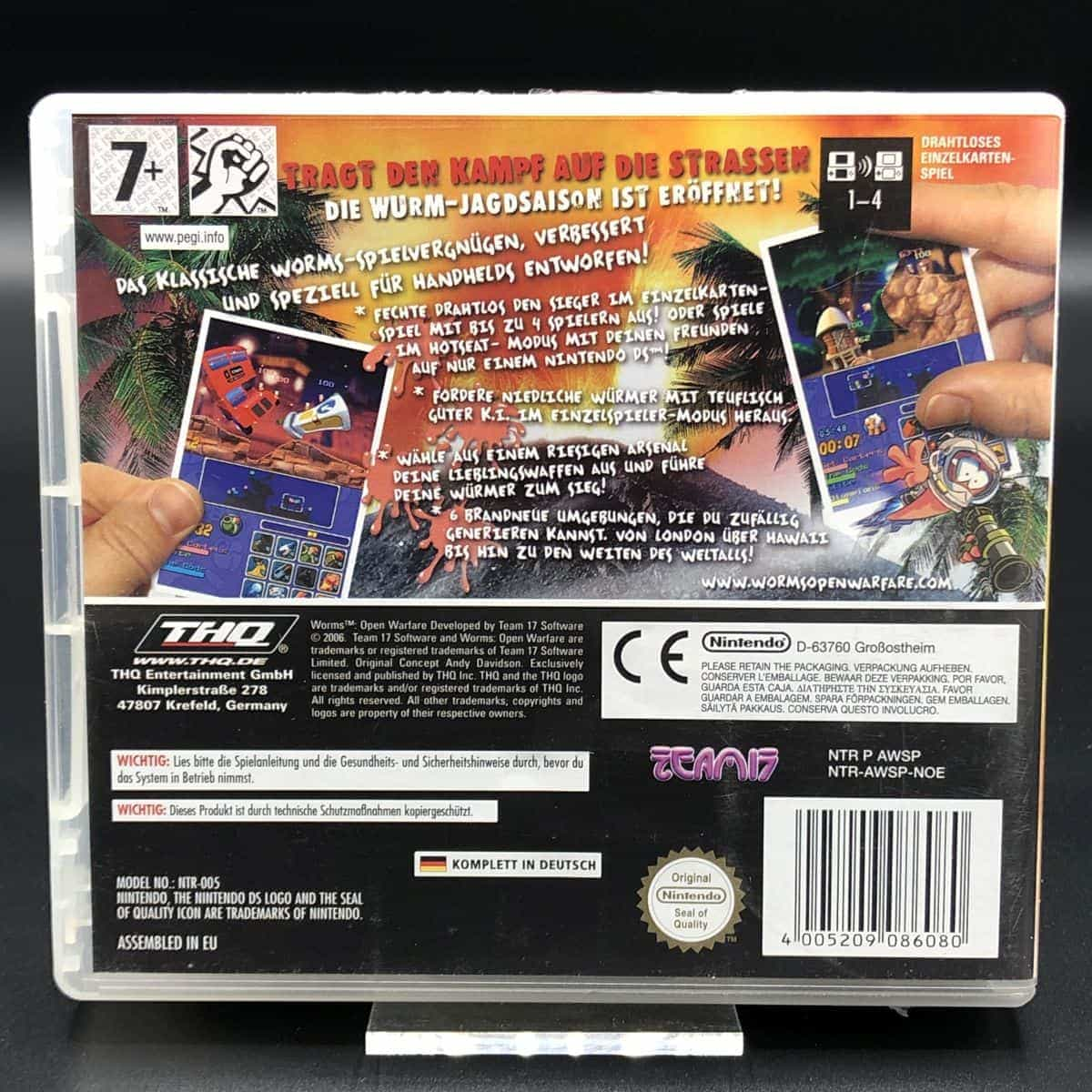 Worms: Open Warfare (Komplett) (Sehr gut) Nintendo DS