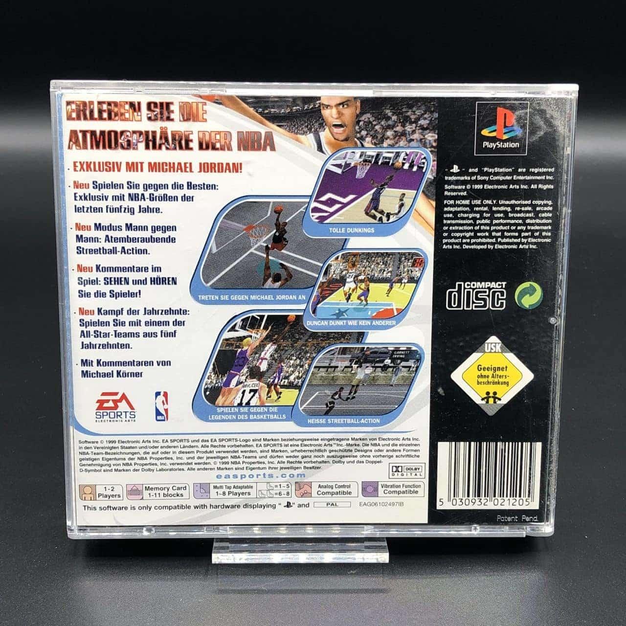 PS1 NBA Live 2000 (Komplett) (Sehr gut) Sony PlayStation 1