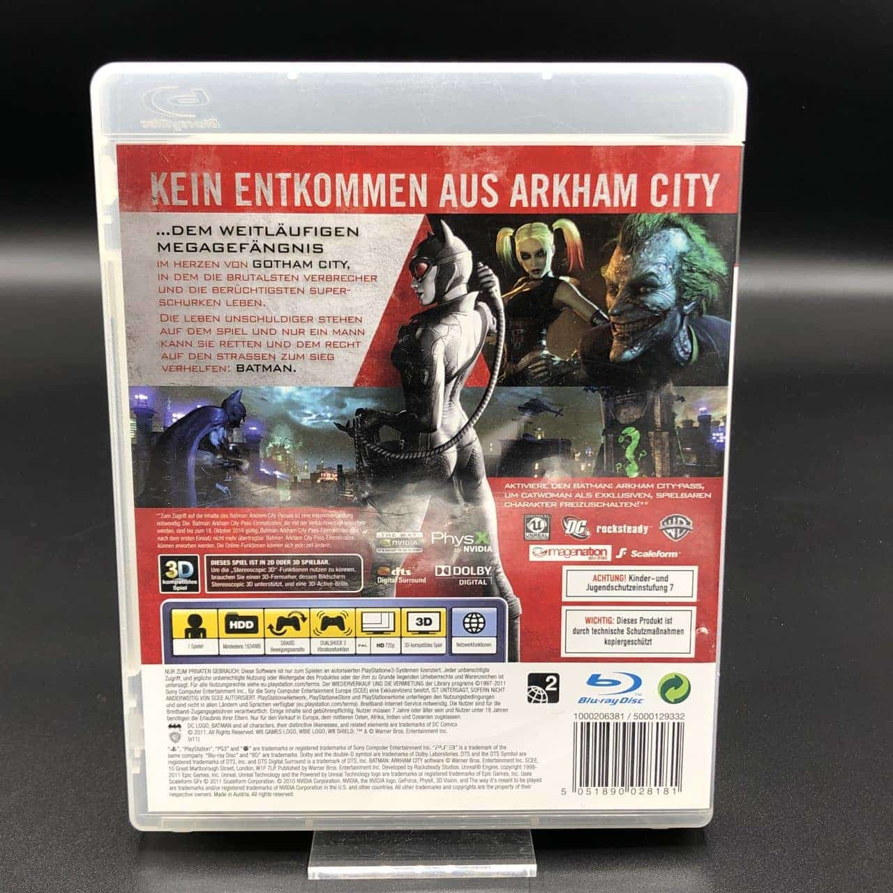PS3 Batman: Arkham City (Komplett) (Sehr gut) Sony PlayStation 3