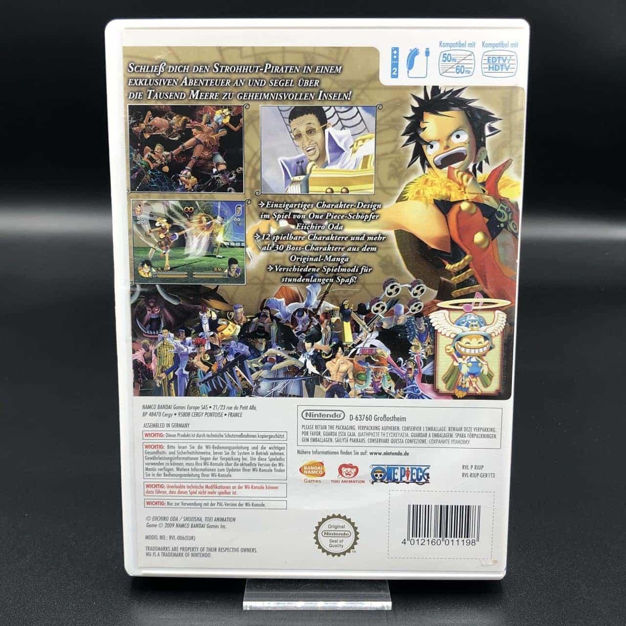 Wii One Piece: Unlimited Cruise 2 (ohne Anleitung) (Gebrauchsspuren) Nintendo Wii