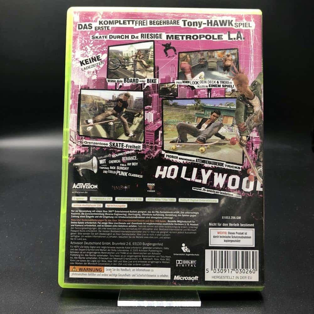Tony Hawk's American Wasteland (Komplett) (Gut) XBOX 360