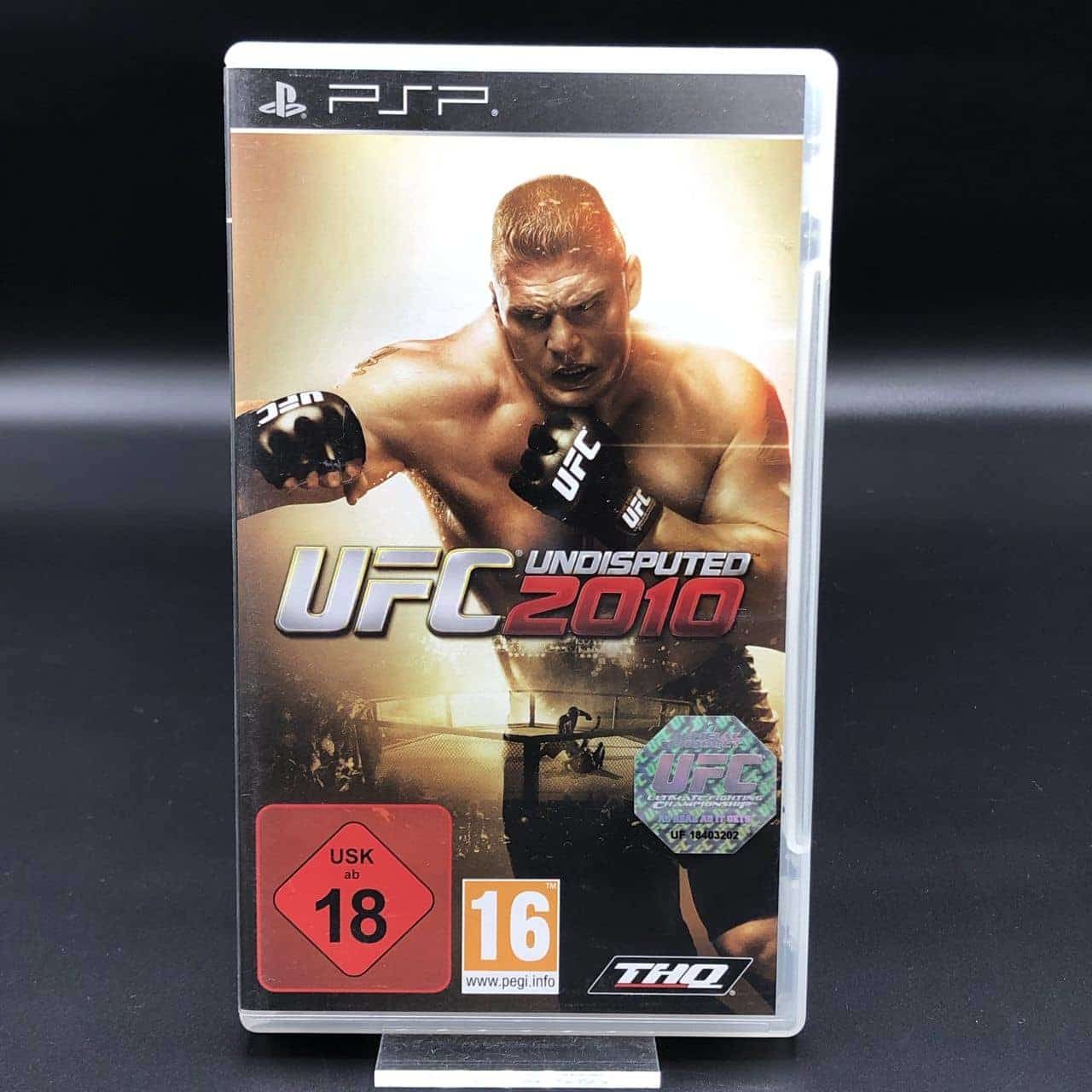 PSP UFC Undisputed 2010 (Komplett) (Gut) Sony PlayStation Portable (FSK18)