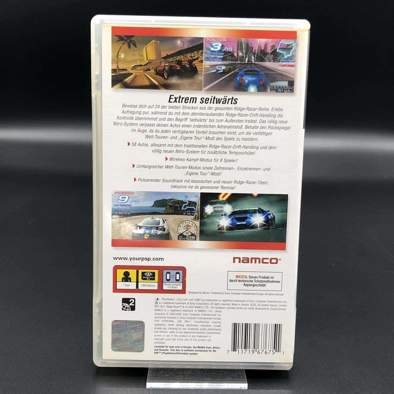 PSP Ridge Racer (Komplett) (Sehr gut) Sony PlayStation Portable