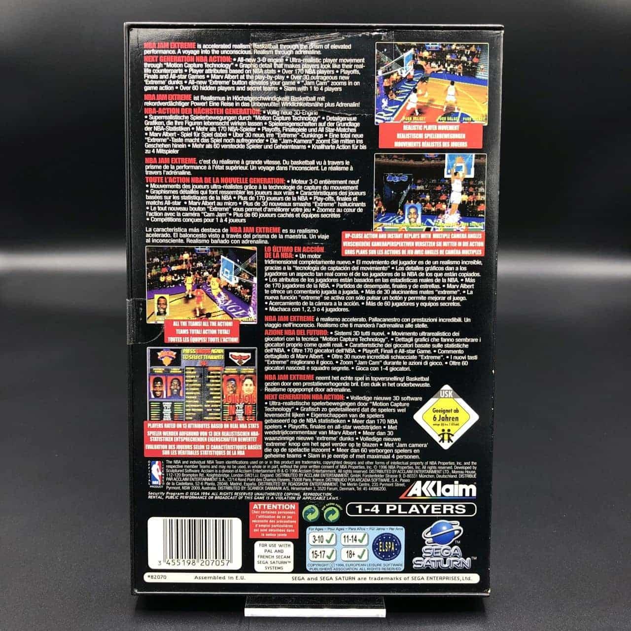 NBA Jam Extreme (Komplett) (Sehr gut) Sega Saturn