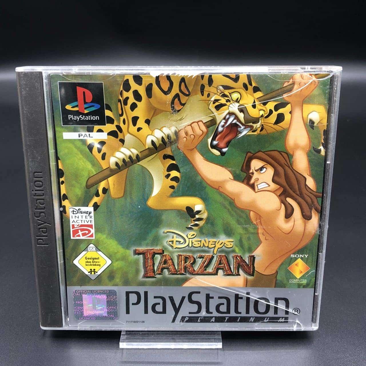 PS1 Disney's Tarzan (Platinum) (Komplett) (Sehr gut) Sony PlayStation 1