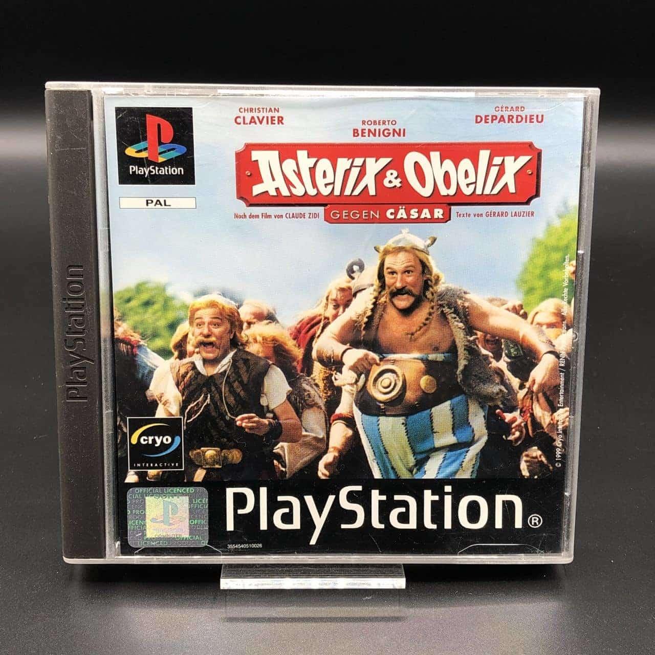 PS1 Asterix & Obelix gegen Cäsar (Komplett) (Sehr gut) Sony PlayStation 1