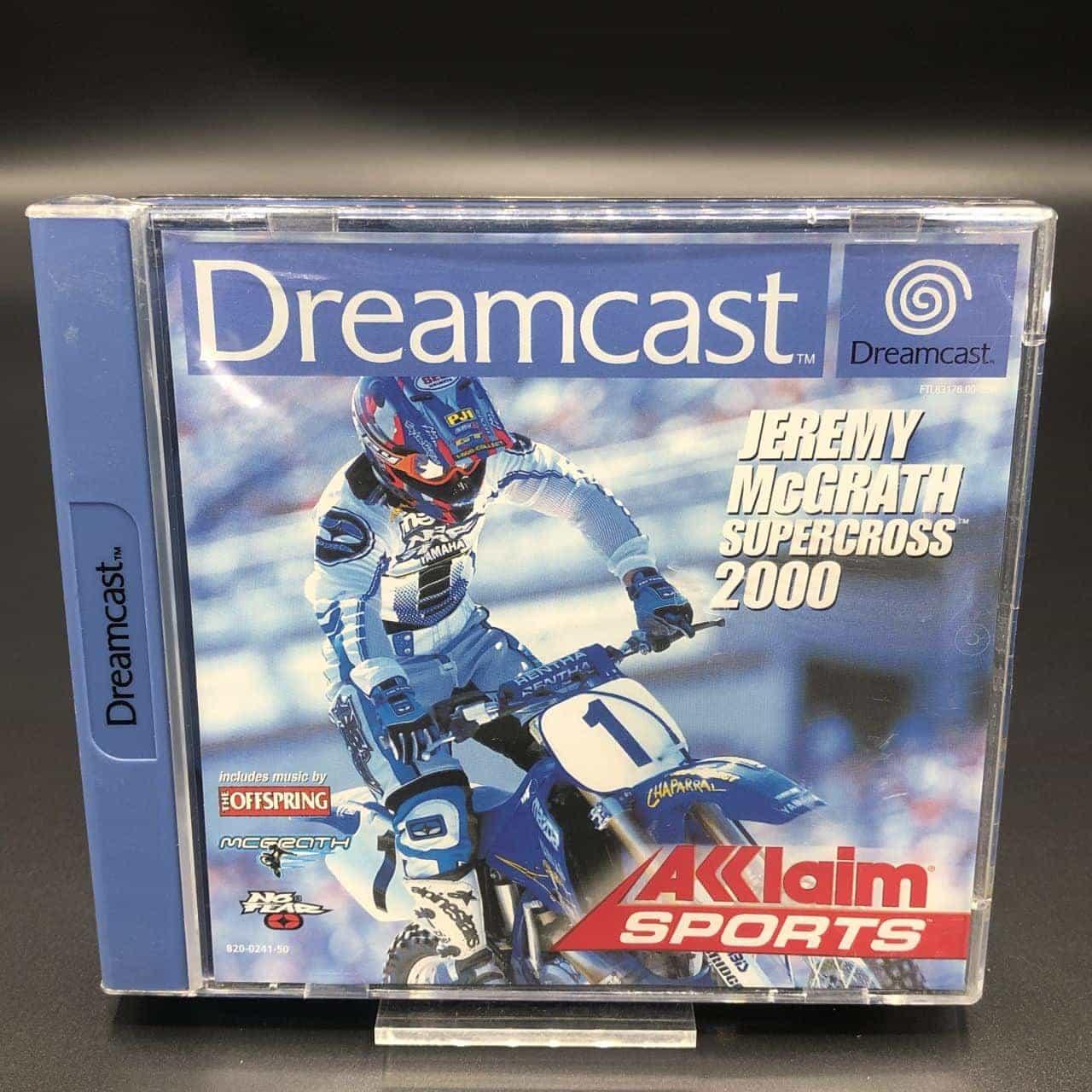 Jeremy McGrath Supercross 2000 (Komplett) (Gut) Sega Dreamcast