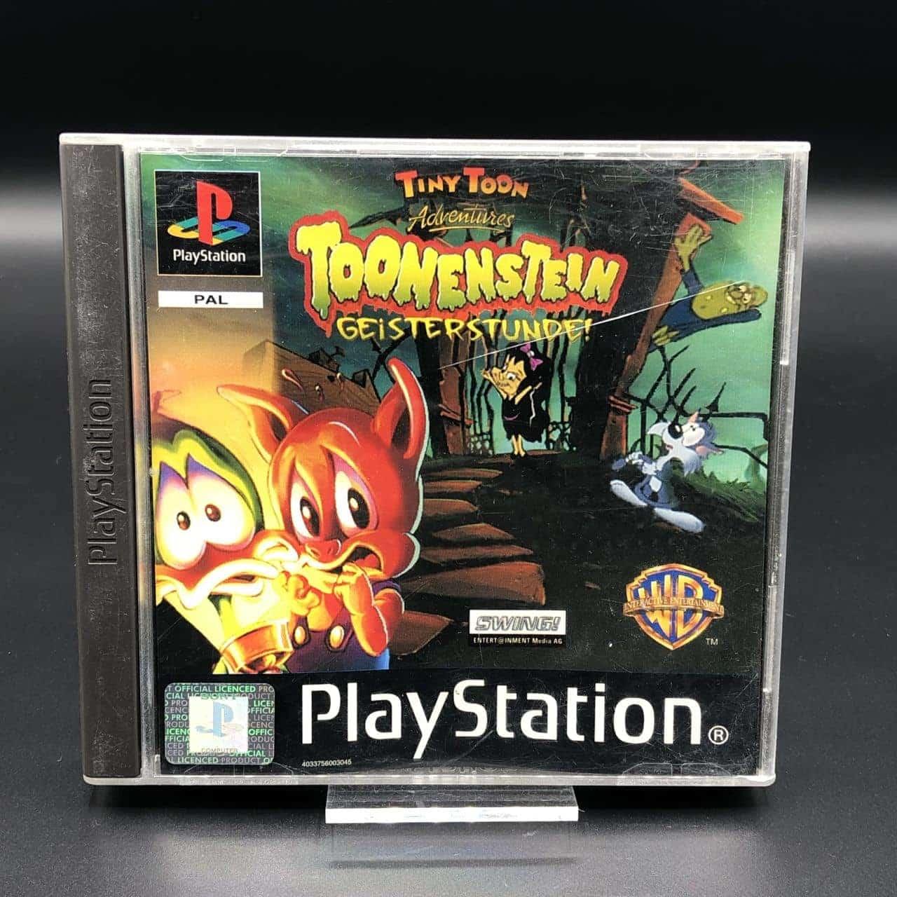 PS1 Toonenstein: Geisterstunde (Komplett) (Gut) Sony PlayStation 1