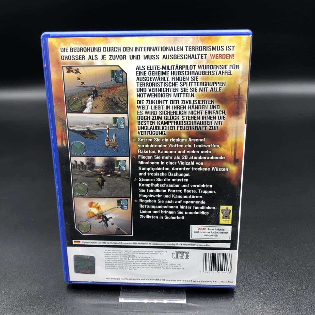 PS2 Operation Air Assault 2 (Komplett) (Gebrauchsspuren) Sony PlayStation 2