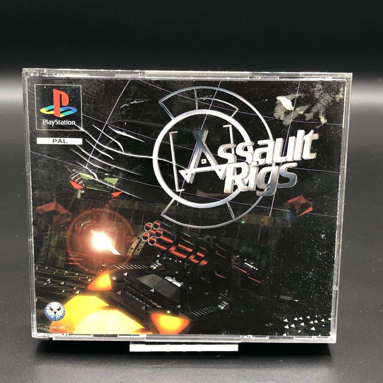 PS1 Assault Rigs (Komplett) (Gebrauchsspuren) Sony PlayStation 1